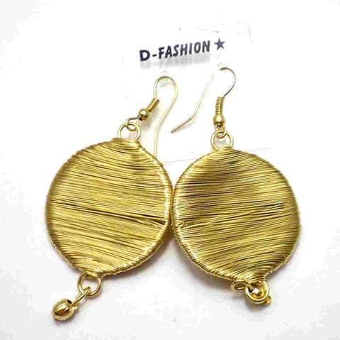 Fashion Earring For Girls Gold
