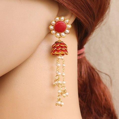 Designer Beaded Pacchi Earring