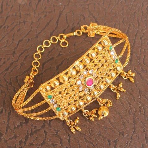 AD Kundan Gold Plated Bajuband