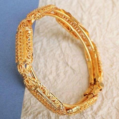Gold Plated Open Kada