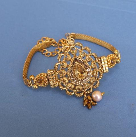 Gold Plated Kundan Bajuband