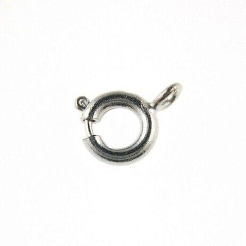 25 Pcs Silver Finish Toggle Clasp 7x6mm