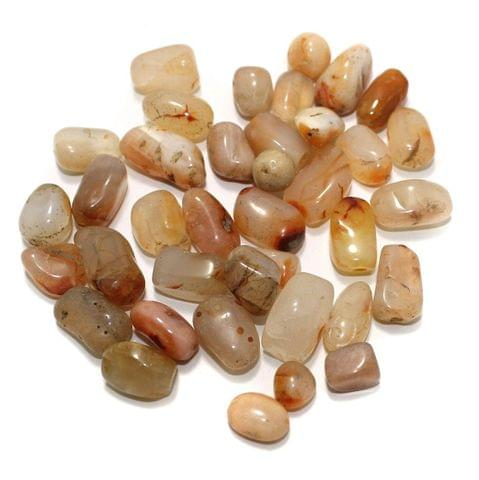 100 Stone Beads Assorted Size / Shape 10x22mm