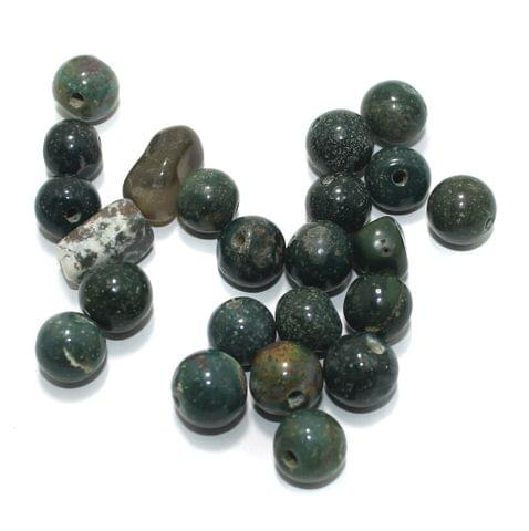100 Stone Beads Assorted Size / Shape 12x20mm