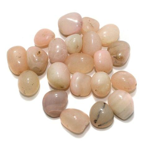 100 Stone Beads Assorted Size / Shape 16x23mm