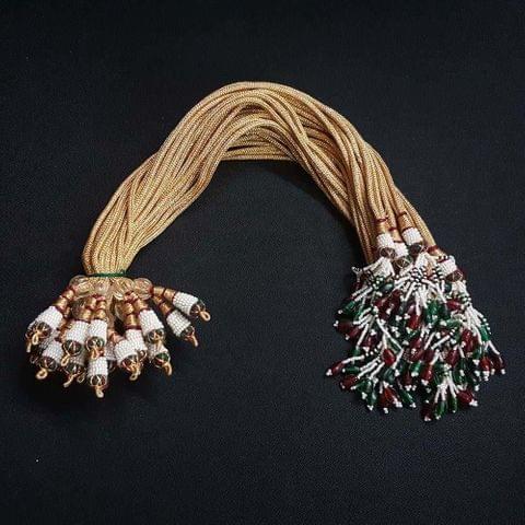 1 Dozen, 12 Inch Double Layer Multi Colour Necklace Dori (Sarafa)