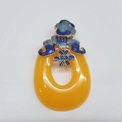 Yellow Colored Pendant
