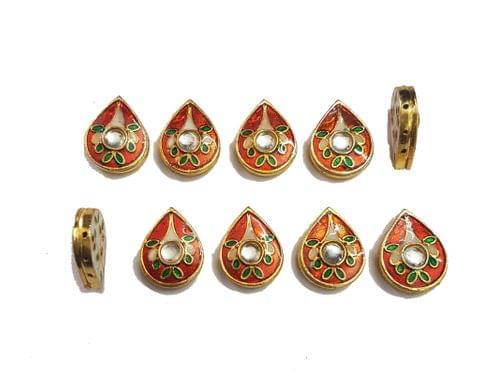 10 pcs Orange Color Spacers 24x19mm