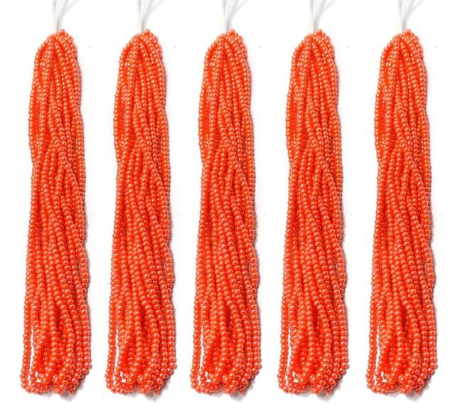 5 Bunch of Preciosa Seed Bead Strings 11/0 Opaque Luster