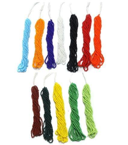 12 Bunch of Preciosa Seed Bead Strings 11/0 Opaque Combo Multicolor