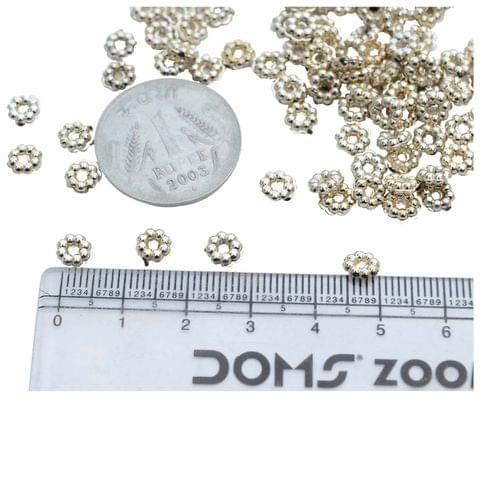 Foppish Mart Small Cute Acrylic  Rings/ Beads- 150 Pieces
