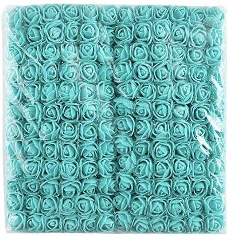 288pcs, navy blue foam flowers for jewellery making, tiara making (2cm)