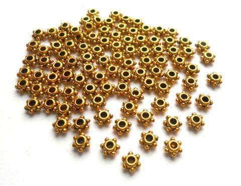 Antique Golden Spacer Beads