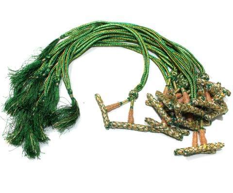 1 Dozen Multi Strand Connector Necklace Dori Green