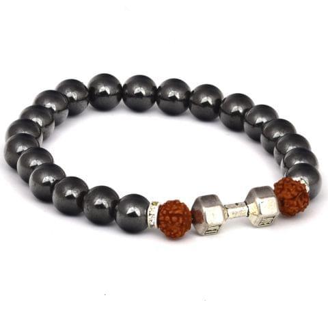 Rudraksha Magnetic Mens Bracelet