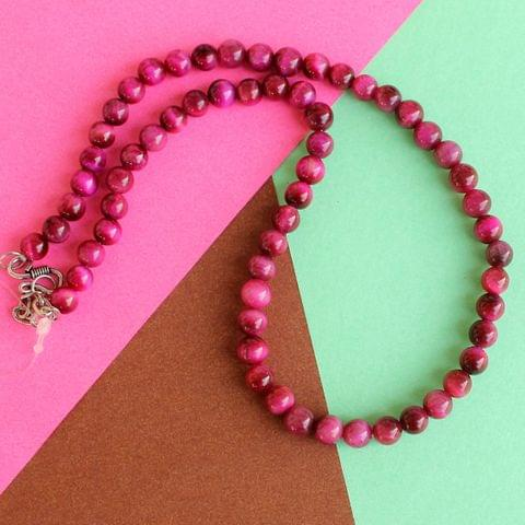 Pink Tiger Eye Gemstone to strengthen concentration