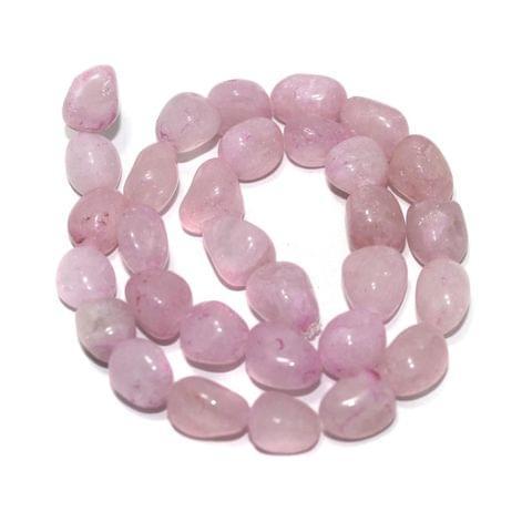 Tumbled Rose Quartz Stone Beads 15-10 mm