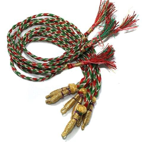 Zari Necklace backrope Dori Multi, Pack Of 12 Pcs
