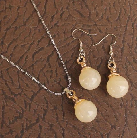 Light Weight Pendant Set Off White