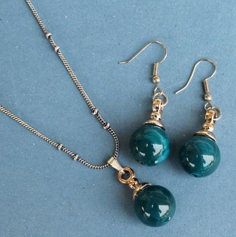 Light Weight Pendant Set Teal