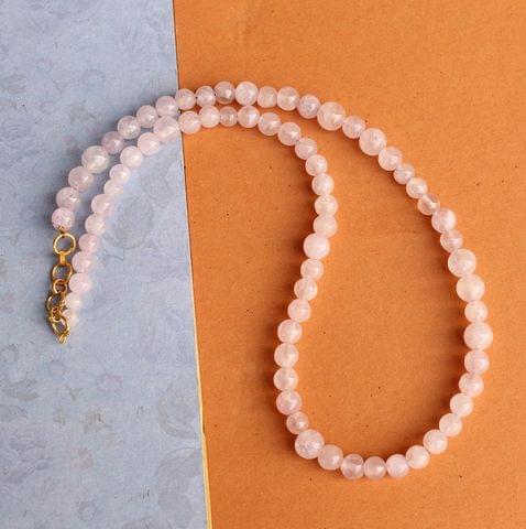 Pink DIY Gemstone Necklace