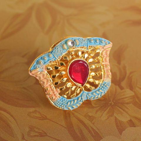 Abhira Adjustable Finger Ring