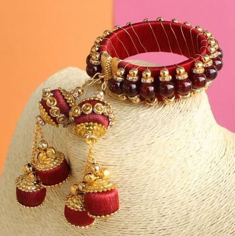 Silk Thread Pavritra Bracelet
