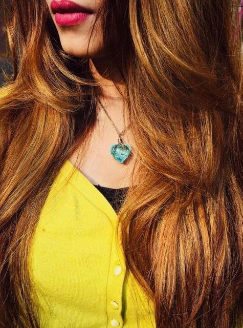 Crystal Heart - Glow In The Dark Necklace