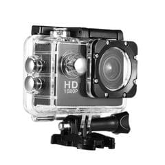 Action Camera 2inch LCD Screen 1280x960P HD 30m Waterproof