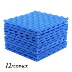 Studio Acoustic Foams Panels Sound Insulation Foam 30 * - Pack of 12pcs
