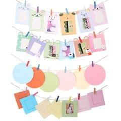 """32pcs Camera Accessories 3"""" Colorful Photo Picture Wall Hang"""