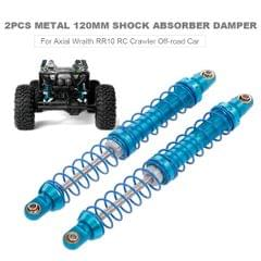 2pcs Shock Absorber Damper 120mm Metal for Axial Wraith RR10
