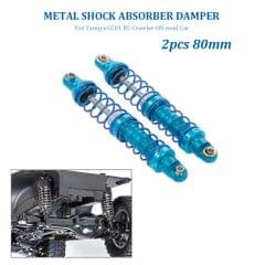2pcs Shock Absorber Damper 80mm Metal for Tamiya CC01 RC - 80mm