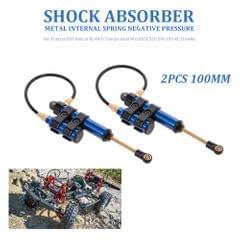 2pcs Internal Spring Negative Pressure Shock Absorber 100mm