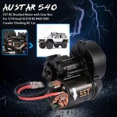 AUSTAR 540 55T RC Brushed Motor with Gear Box for 1/10 Axial