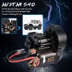 AUSTAR 540 35T RC Brushed Motor with Gear Box for 1/10 Axial