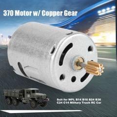 370 Motor w/ Copper Gear for WPL B14 B16 B24 B36 C24 C14