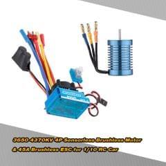 3650 4370KV 4P Sensorless Brushless Motor with 45A Brushless
