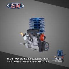 Original SH M21-P3 3.48cc 2-stroke Pull Start Engine for 1/8