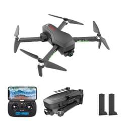 CSJ X7 PRO GPS RC Drone with Camera 4K 5G Wifi 2-axis Gimbal - 2 Batteries