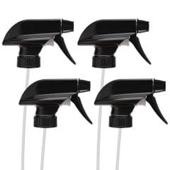 4pcs Spray Bottle Trigger Nozzle Replacement Plastic Sprayer