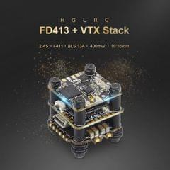 HGLRC FD413-VTX STACK Combined with 16x16 2-4S F411 Flight