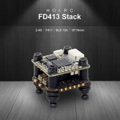 HGLRC FD413 STACK Combined with 16x16 2-4S F411 Flight