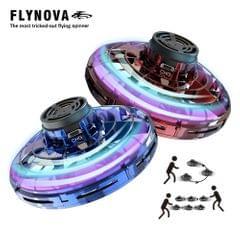 Flynova UFO Fingertip Upgrade Flight Gyro Flying Spinner - Red&Blue