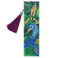 5D Special Shaped Diamond Leather Book Marker with Tassel - 5