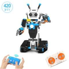 420pcs Robotic Building Block 2.4GHz RC Robot APP Control
