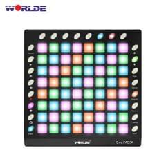 WORLDE ORCA PAD64 Pro Portable USB MIDI Drum Pad Controller