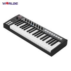 WORLDE Blue whale 37 Portable USB MIDI Controller Keyboard