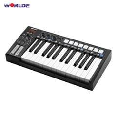 WORLDE Blue whale 25 Portable USB MIDI Controller Keyboard