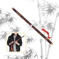 D Key Chinese Traditional Instrument Dizi Bitter Bamboo - D key